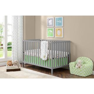 Ameriwood Home Charlotte Soft Grey Crib by Cosco