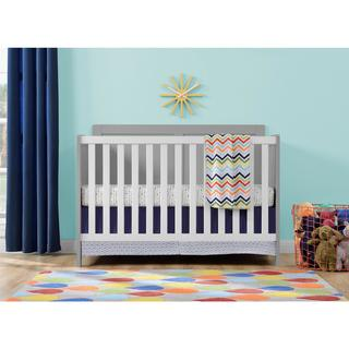 Ameriwood Home Willow Lake Grey and White Crib by Cosco