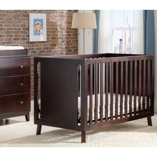 Manhattan 3-in-1 Dark Chocolate Crib