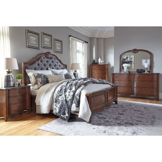 Signature Design by Ashley Balinder Medium Brown Panel Bed