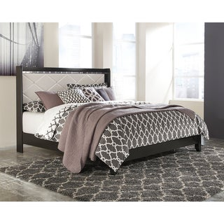 Signature Design by Ashley Fancee Black Panel Bed