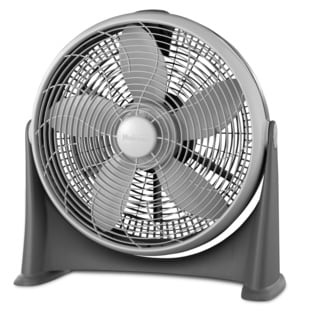 Holmes HFF2015C-GM Light Grey 20-inch 3-speed Power Fan