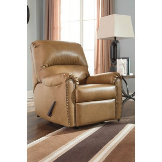 Signature Design by Ashley Lottie Durablend Almond Rocker Recliner
