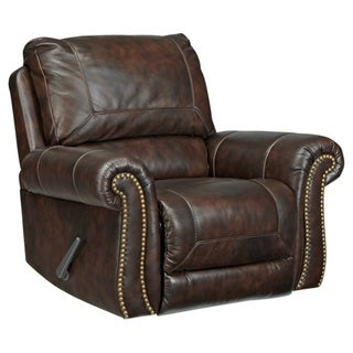 Signature Design by Ashley Bristan Saddle Rocker Recliner