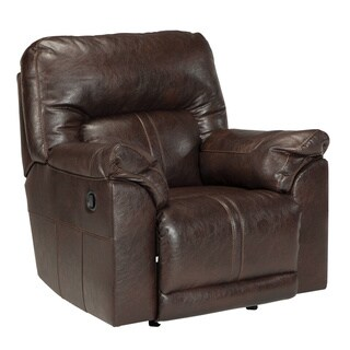 Signature Design by Ashley Barrettsville Durablend Chocolate Rocker Recliner