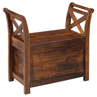 Abbonto Warm Brown Bench