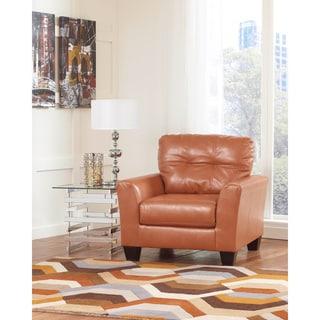 Signature Design by Ashley Paulie Durablend Orange Chair