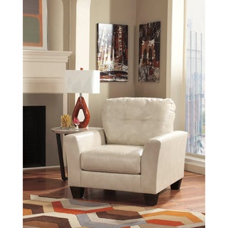 Signature Design by Ashley Paulie Durablend Taupe Chair