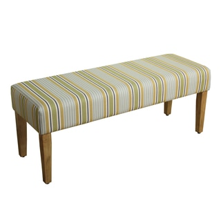 HomePop Decorative Bench