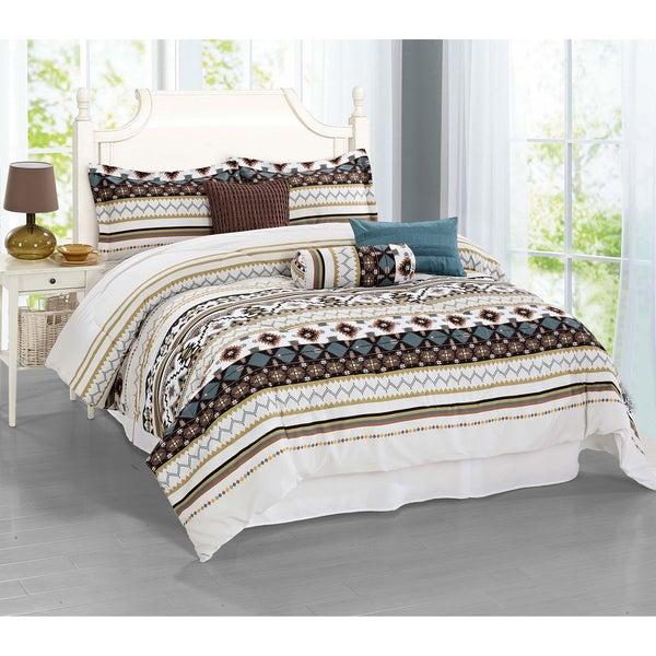 Journee Home 'Menorca' 7-piece Comforter Set
