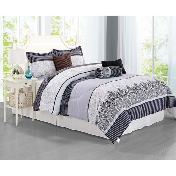 Journee Home 'Orcera' 7-piece Duvet Set