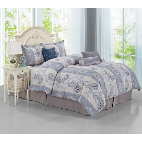 Journee Home 'Alora' 7-piece Duvet Set