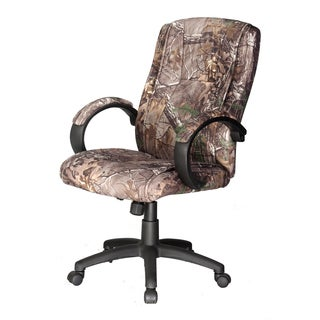 Realtree Padded Camouflage Executive Chair