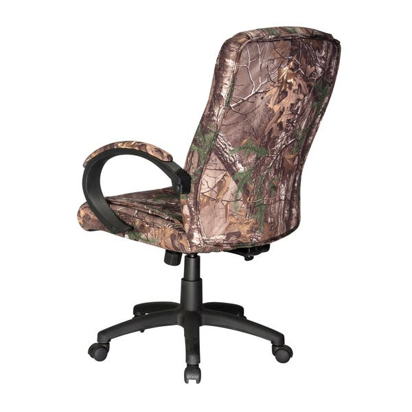 Shop Realtree Padded Camouflage Executive Chair Overstock 10735519