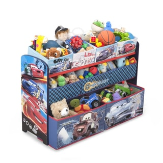 Delta Children Cars Deluxe Multi-bin Organizer