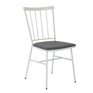 Rhaxma Grey/ White Dining Chairs (Set of 4)