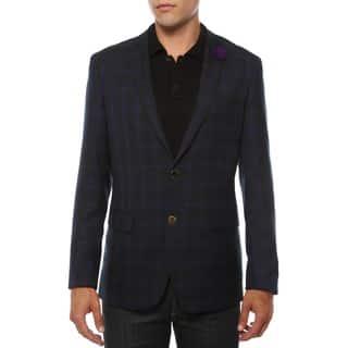 Ferrecci Men's Sodi Purple Tartan Plaid Slim Fit Blazer (Option: 36r)|https://ak1.ostkcdn.com/images/products/10735584/P17791990.jpg?impolicy=medium