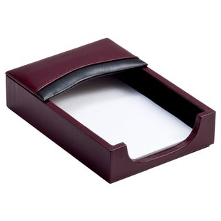 Two-tone Leather 4 inch x 6 inch Memo Holder