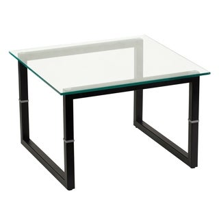 15.5-inch Glass Reception Table