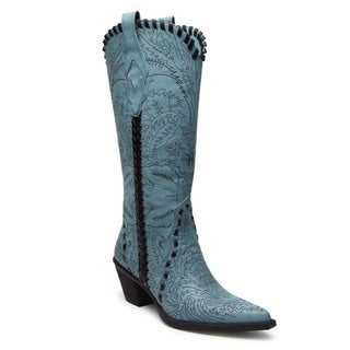 Women's 'Filix' Woven Trim Cowgirl Boots