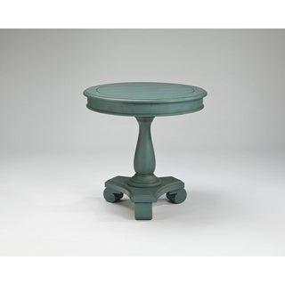 Signature Design by Ashley Mirimyn Soft Blue Round Accent Table