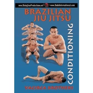 Brazilian Jiu Jitsu Conditioning DVD Demetrius Vacirca grappling Rickson Gracie