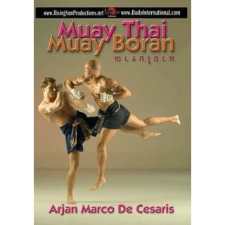 Combat Muay Thai Boran Elbows DVD Arjarn Cesaris kickboxing 15 blows defense