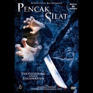 Pencak Silat Defense Against Knives Blades DVD Nadar indonesian martial arts