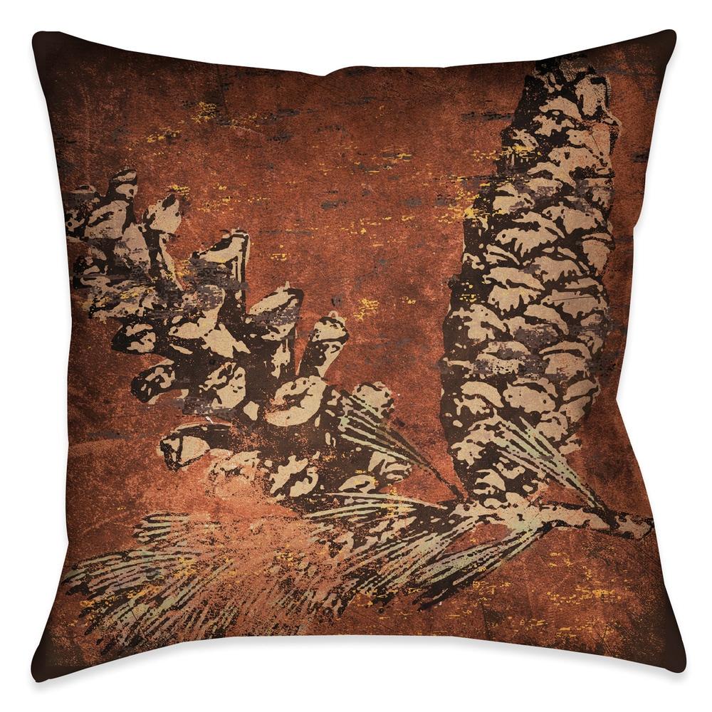 Shop Laural Home Bear Lodge Decorative 18-inch Throw Pillow - 10735805