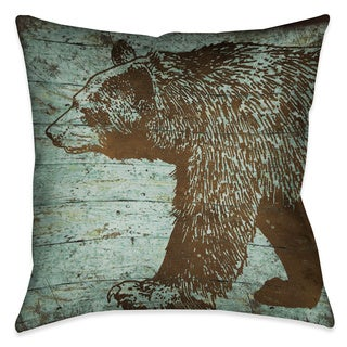 Laural Home Bear Lodge Decorative 18-inch Throw Pillow