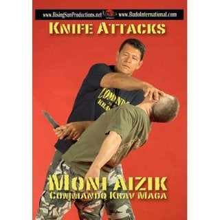 Moni Aizik Aizac Knife Attacks Israeli Krav Maga DVD weapons empty hand training