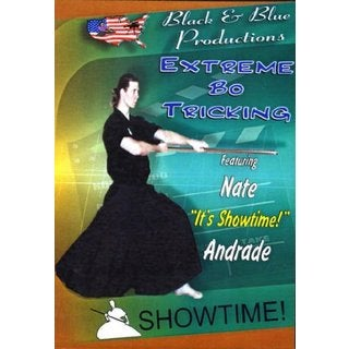 Extended Bo Staff Tricks DVD martial arts karate taekwondo kata demos tournament