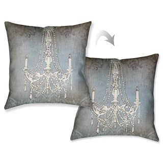 Laural Home Chandelier Lights II Decorative 18-inch Throw Pillow