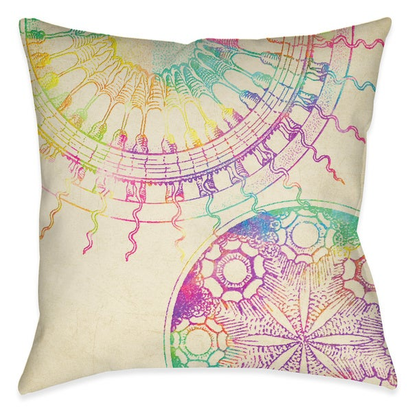 Laural Home Coastal Sun Patterns Decorative 40inch Throw Pillow Extraordinary Free Decorative Pillow Patterns