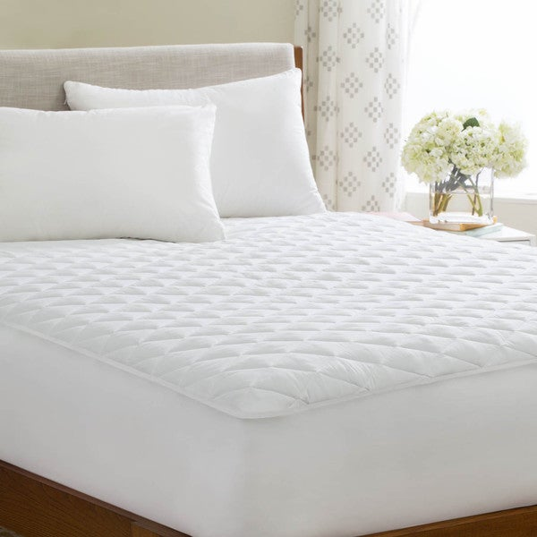 Linenspa Waterproof Mattress Pad With Stretch Skirt Free