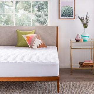 LINENSPA Waterproof Mattress Pad with Stretch Skirt