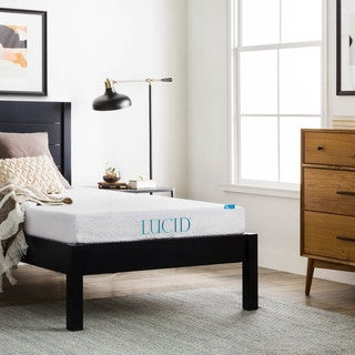 LUCID 6-inch Twin-size Gel Memory Foam Mattress