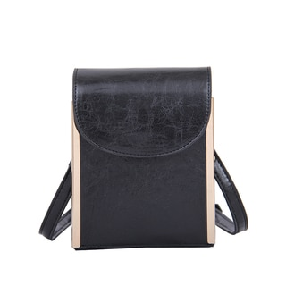 Mellow World Nimble Black Crossbody Clutch Handbag