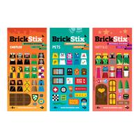 BrickStix My Imagination Building Block Sticker Set