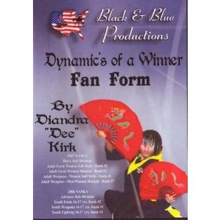 Kung Fu Chinese 1 & 2 Fan Forms Diandra Kirk DVD taichi fighting opening hold