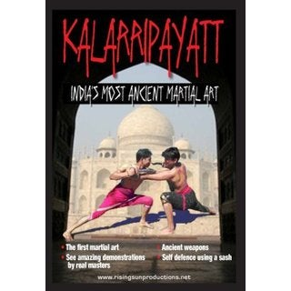 Kalarripayatt India Ancient Martial Art Training DVD Indian budo weapons swords
