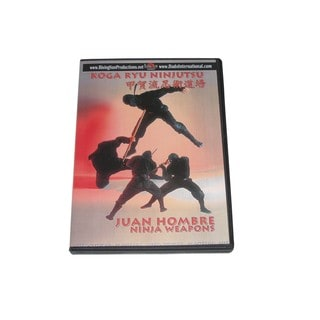Koga Ryu Ninja Weapons DVD Juan Hombre ninjitsu throwing stars shuriken spy