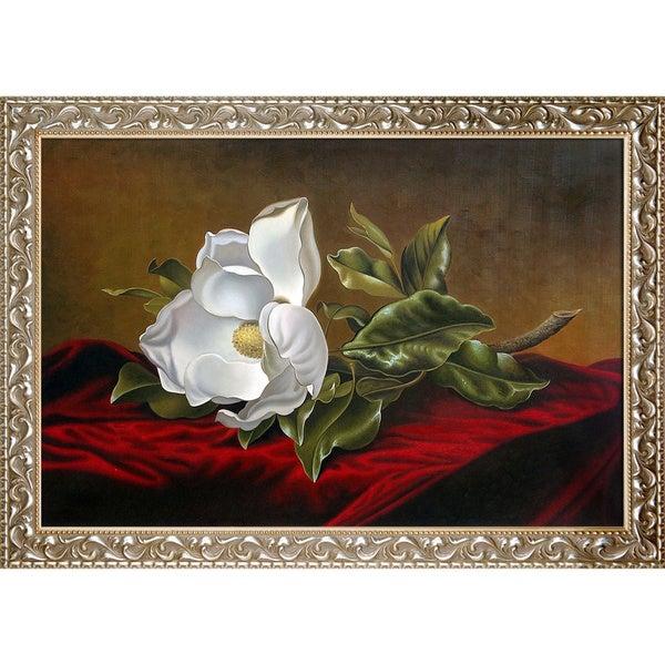 Martin Johnson Heade The Magnolia Blossom 1888 Hand