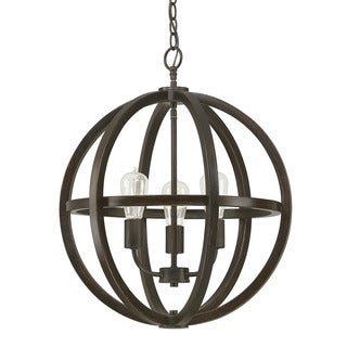 Austin Allen & Company Cole Collection 3-light Brushed Espresso Pendant