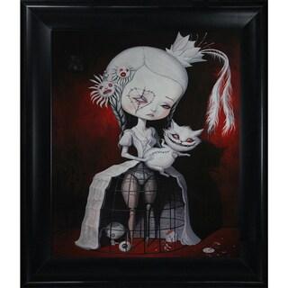 Adrian Borda 'I am Just a Prison for The Good Old Days' Framed Fine Art Print