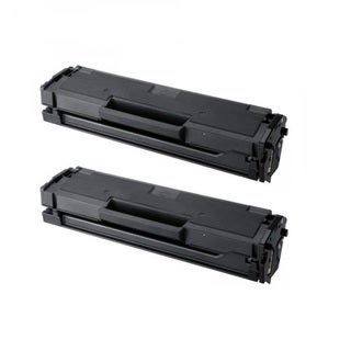 2PK Compatible for Samsung MLT-D111S Black Toner Cartridge (Pack of 2)