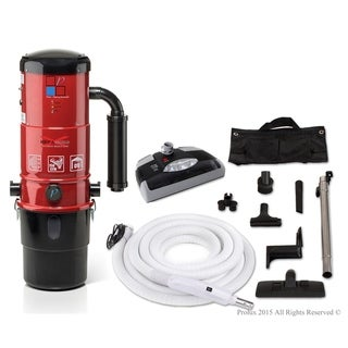Link to Prolux CV12000 Central Vacuum Unit System with Electric Hose Power Nozzle Kit Similar Items in Vacuums & Floor Care