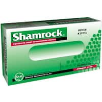 Shamrock Powder-free Clear Vinyl Exam Gloves (Case of 1000)