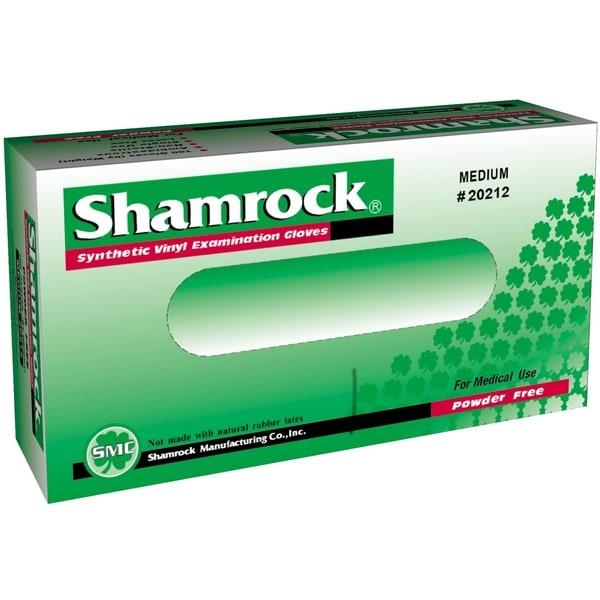 Shop Shamrock Powder Free Clear Vinyl Exam Gloves Case Of