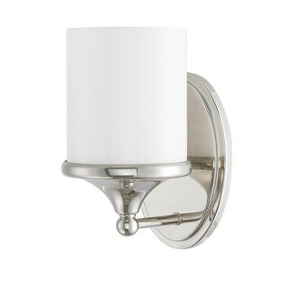Austin Allen & Company Piedmont Collection 1-light Polished Nickel Wall Sconce